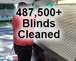 487,500+ Blinds Cleaned