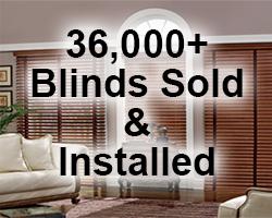 36,000+ Blinds Sold & Installed